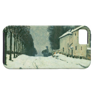 La Route de Louveciennes, Hiver, 1874 (oil on canv iPhone SE/5/5s Case