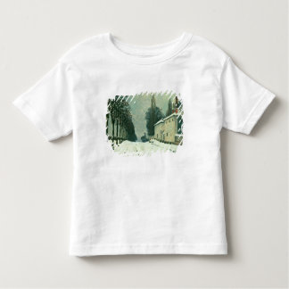 La Route de Louveciennes, Hiver, 1874 (oil on canv Toddler T-shirt