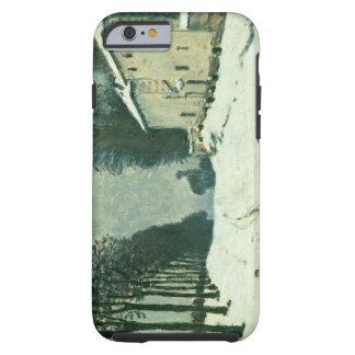 La Route de Louveciennes, Hiver, 1874 (oil on canv Tough iPhone 6 Case