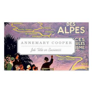 La route des Alpes Business Card