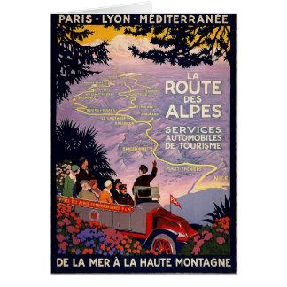 La route des Alpes Card