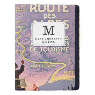 La route des Alpes Extra Large Moleskine Notebook