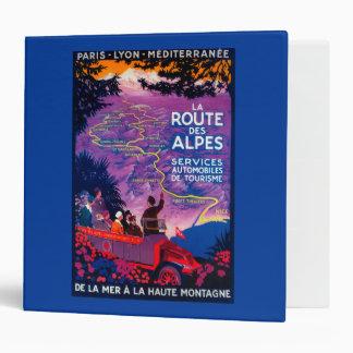 La Route Des Alpes Vintage PosterEurope Binder
