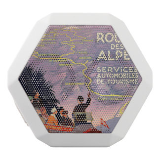 La route des Alpes White Boombot Rex Bluetooth Speaker