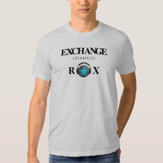 LA ROX, DJ Rico Rox del intercambio Camisas