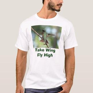 La Rubí-garganta toma la camiseta del ala