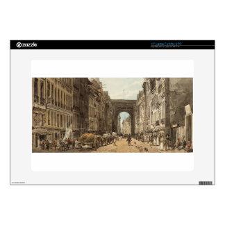La Rue St Denis by Thomas Girtin Skins For Laptops
