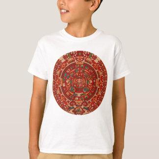 La rueda (azteca) maya del calendario playera