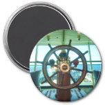 La rueda de la nave imanes