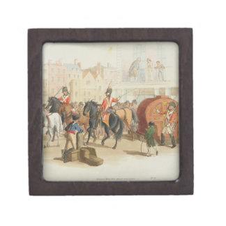 La rueda de lotería, grabada por el artista, 1805  cajas de recuerdo de calidad
