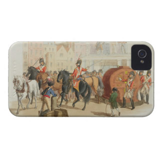 La rueda de lotería, grabada por el artista, 1805 Case-Mate iPhone 4 fundas