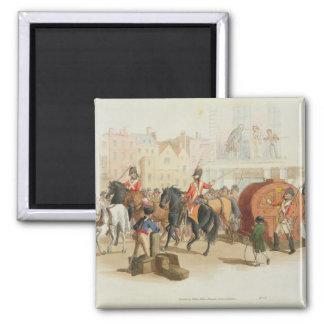 La rueda de lotería, grabada por el artista, 1805  iman