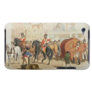 La rueda de lotería, grabada por el artista, 1805  iPod Case-Mate protector