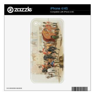 La rueda de lotería, grabada por el artista, 1805  skins para eliPhone 4S