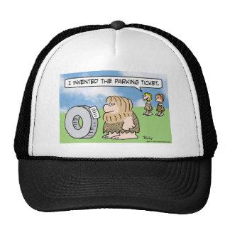 la rueda del hombre de las cavernas inventó a la m gorro de camionero