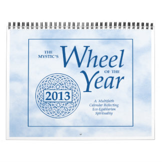 La rueda del místico del año 2013 calendario