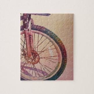 La rueda en color rompecabeza