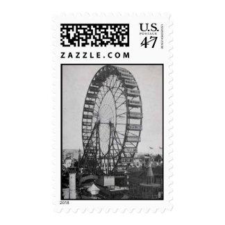 La rueda Justa-Ferris de los Franqueo-Mundos Timbre Postal