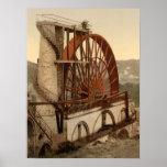 La rueda, Laxey, isla del hombre, impresión archiv Impresiones
