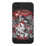 La ruina del hombre: Mujeres y pecado del vino iPhone 4 Case-Mate Carcasas