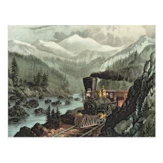 La ruta a California Tarjeta Postal