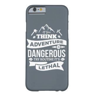 La rutina de la aventura de la escalada es error funda barely there iPhone 6