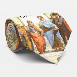 La sabiduría comienza en la maravilla - escuela de corbata personalizada