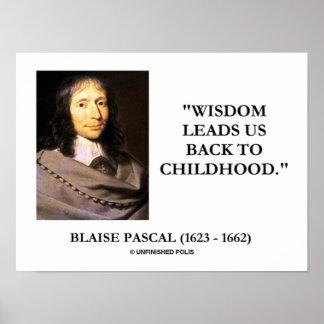 La sabiduría de Blaise Pascal nos lleva de nuevo a Impresiones