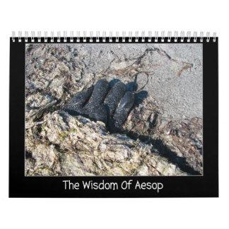 La sabiduría de Esopo Calendario