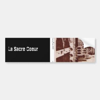 La Sacre Coeur Bumper Sticker