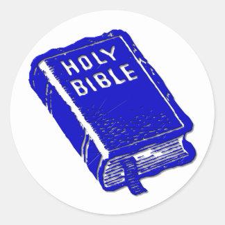 La Sagrada Biblia Pegatina Redonda