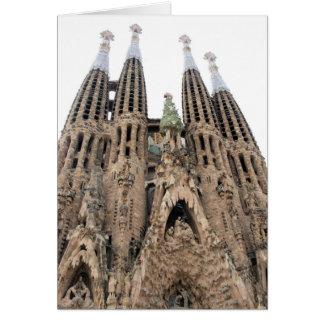 La Sagrada Familia - Barcelona - Greeting Card