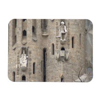 La Sagrada Família, Barcelona Rectangular Photo Magnet