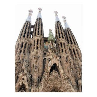La Sagrada Familia - Barcelona, Spain Postcard