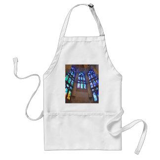 La Sagrada Familia Church Adult Apron