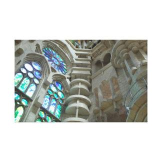 La Sagrada Familia Church Canvas Print
