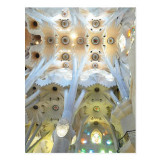 La Sagrada Familia Church Postcard