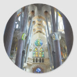 La Sagrada Familia Pegatina Redonda