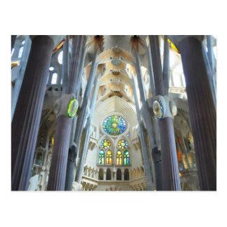 La Sagrada Familia Postcard