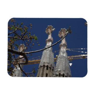La Sagrada Família Rectangular Photo Magnet