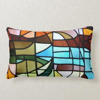 La Sagrada Família Stained Glass Pillow