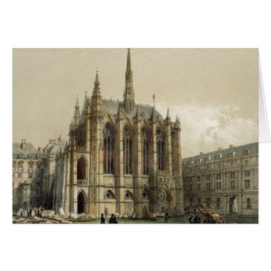 La Sainte Chapelle, Paris Card