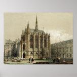 La Sainte Chapelle, París Impresiones