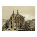 La Sainte Chapelle, París Postales