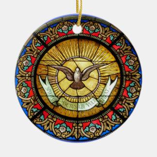 La Sainte-Chapelle  Stained glass window Ceramic Ornament