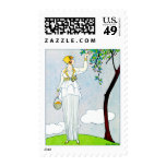La Saison Des Prunes Mirabelles Stamps