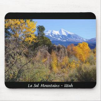 La Sal Mountains - Utah Mouse Pad