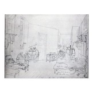 La sala de Edward, el hospital de St Thomas, Tarjeta Postal