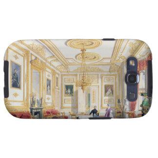 La sala de estar blanca en el castillo de Windsor Galaxy S3 Cobertura