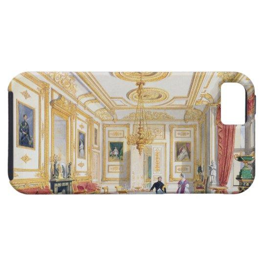 La sala de estar blanca en el castillo de Windsor Funda Para iPhone SE/5/5s